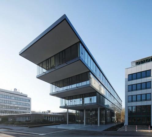 Architektur Dortmund neubau des verwaltungsgebäudes der handwerkskammer dortmund in die