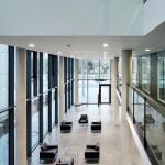 Blick auf das Galeriegeschoss. Bild: Gerber Architekten | Fotograf: Hans Jürgen Landes
