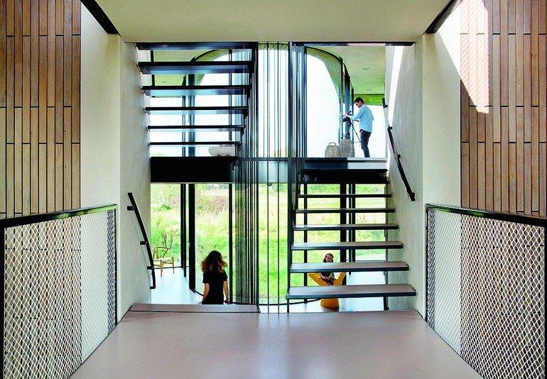 neubau eines wohnhauses in nordholland utopisch inspiriert. Black Bedroom Furniture Sets. Home Design Ideas