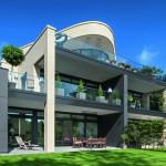 Mit einer kontrastreichen Formen- und Materialsprache reagiert der Bau auf unterschiedliche Anforderungen seiner Positionierung. Bild: heinewarnecke.com