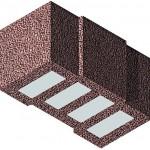 Gefüllter Bimssteinziegel für die Außenwand. Bild: Bisotherm