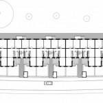 Grundriss Erdgeschoss Friedrich-List-Straße 53-61. Zeichnungen: Christoph Mäckler Architekten