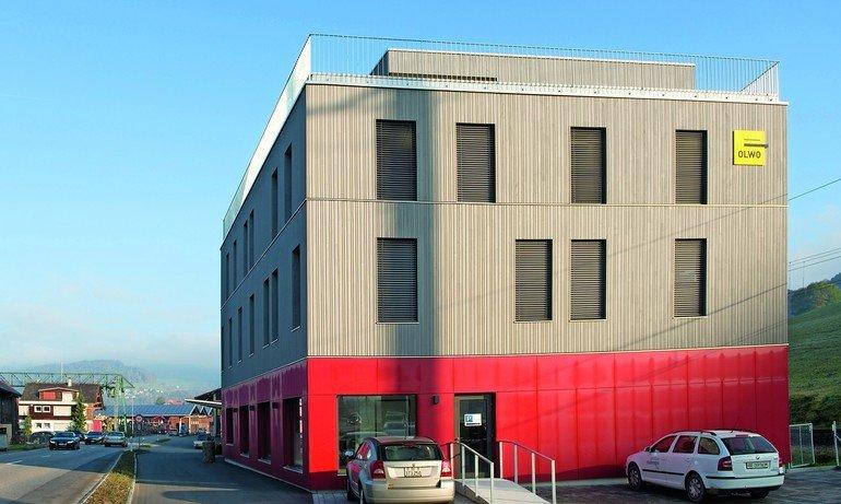 Neubau einer Firmenzentrale in Worb: Mit Brandschutz und Schalldämmung