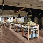 Bodenbelag in Holzdielenoptik. Bilder: Egger Retail Products