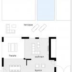 Grundriss OG. Zeichnung: Architekturbüro Bau-Werk-Stadt, Bühl