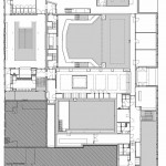 Grundriss 1. Obergeschoss. Zeichnungen: Ector Hoogstad Architecten