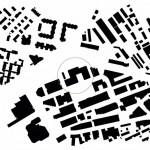 Schwarzplan Gewerbegebiet Binz in Zürich. Zeichnungen: baumschlager eberle