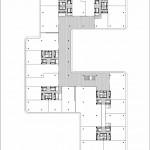 Grundriss TicTricTrac Obergeschoss. Zeichnung: baumschlager eberle