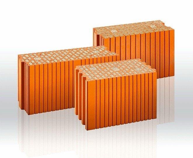 Dämmstoffgefüllter Kimmziegel für Planziegelmauerwerk