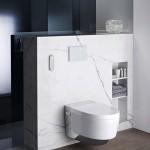 Dusch-WC mit besonders hohem Komfort.