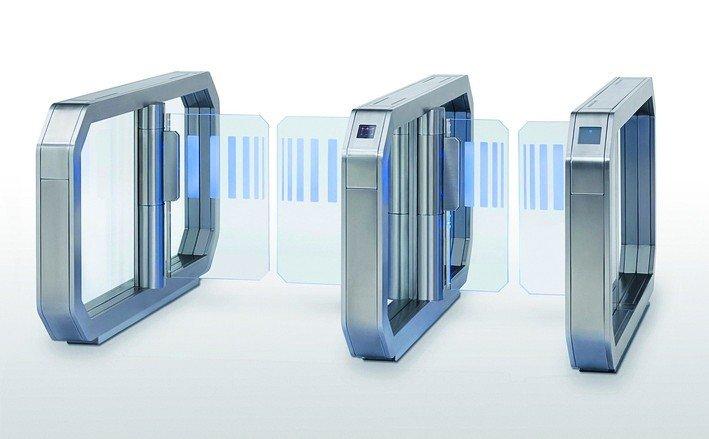 Automatische Einlassschranken. Bild: Wanzl