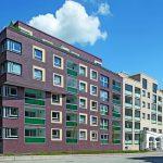 Klinkerriemchen für Neubau eines Wohnensembles mit Café in Hamburg. Bild: czerner göttsch architekten   Fotograf Christoph Gebler