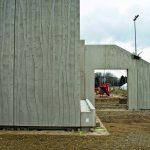 Die im Fertigteilwerk hergestellten Betonfertigteile konnten auf der Baustelle problemlos montiert werden. Bild: Noe-Schaltechnik