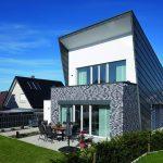Haus mit Fassade in Klinker und Zinkverkleidung. Bilder: Burg+Schu, www.palladium.de | KS-Original GmbH
