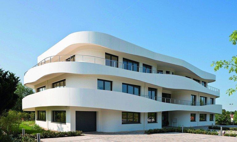 Neubau Eines Unternehmenssitzes In Hosbach Anspruchsvoll Gerundet