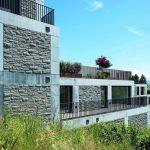 Abgetreppte Terrassenanlage der klassisch konzipierten Dudler-Architektur mit Blickrichtung zum See. Bilder: Storama AG