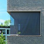 Eckfenster, effektiv mit Reißverschluss-Screens verschattet. Bild:Storama AG