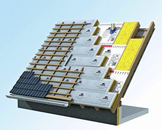 fl chige verlegung der dampfbremse im dach. Black Bedroom Furniture Sets. Home Design Ideas