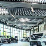 Die Baso Baffel Industry wurde für Industrieproduktion entwickelt, leistet aber auch im Autohaus wertvolle Dienste. Bild:Sonatech