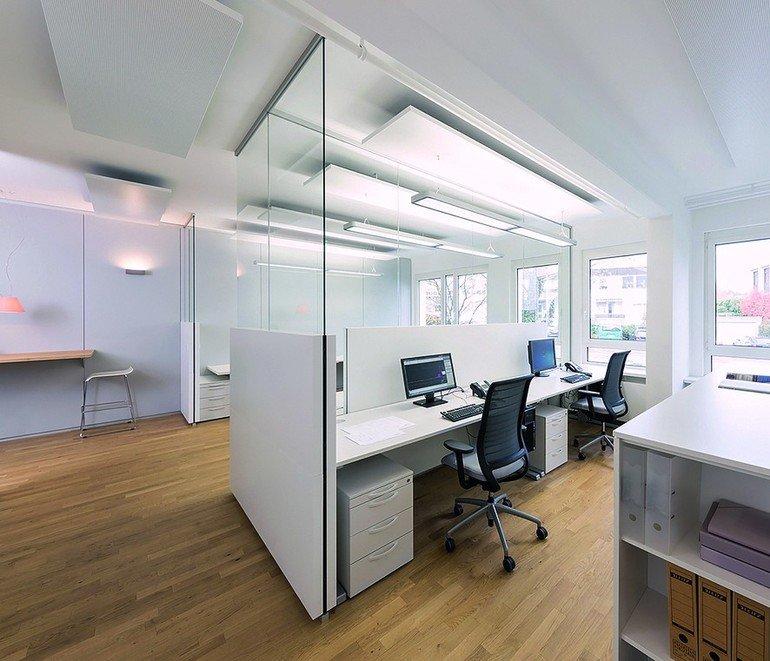 Büroarbeitsplätze. Bild: Strähle