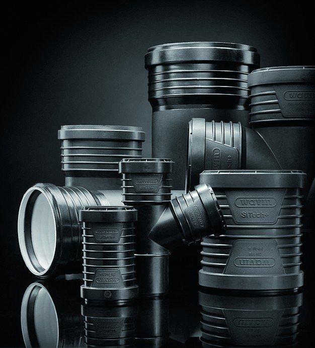 Plastikrohre. Bild: Wavin GmbH