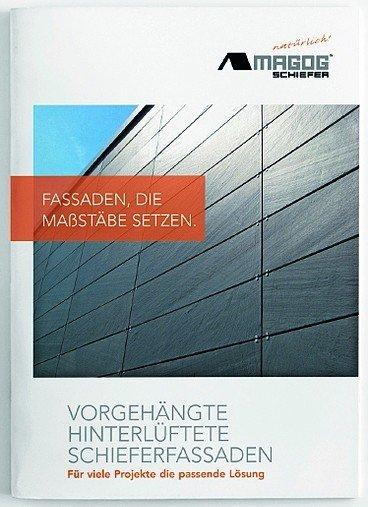 Magog Schiefer-Broschüre.