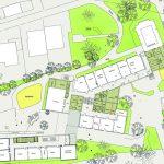 Grundriss/Lageplan. Zeichung: UKP – Hettich Architekten