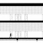 Schnitt. Zeichnung: Architectenbureau Marlies Rohmer