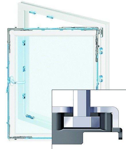 Schaubild einer Fensterverriegelungssystems. Bild: Weru GmbH