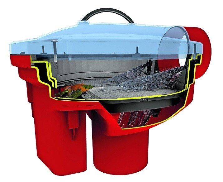 Regenwasser im Erdtank mit Filter