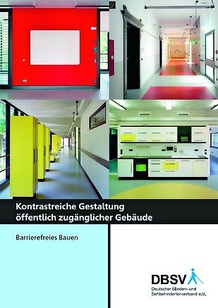 Broschüre für Barrierefreies Bauen.