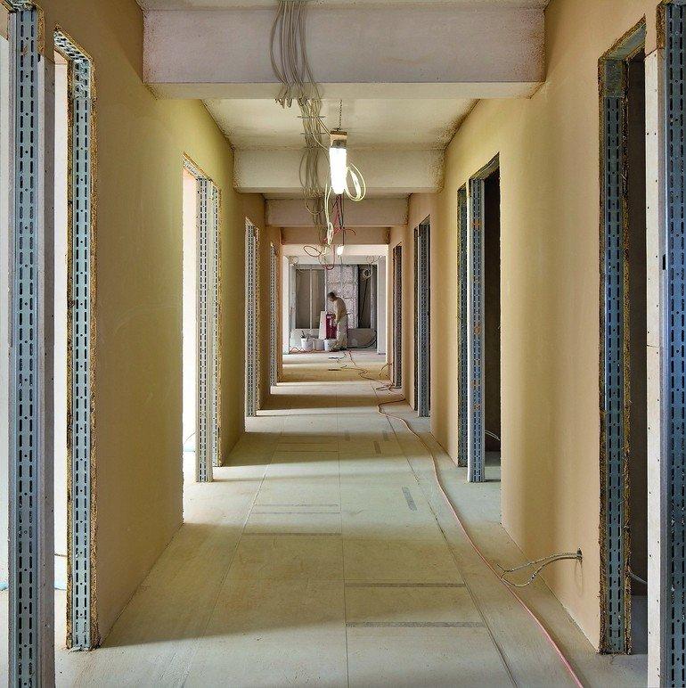 Lehmbauplatten als Alternative. Bild: Claytec/Koculak