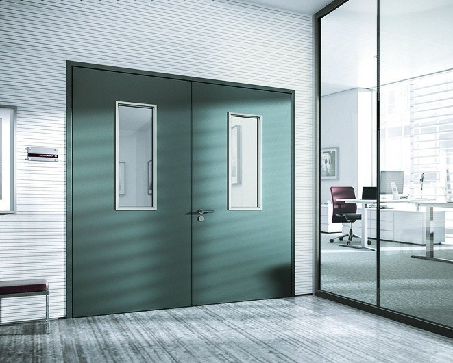 Doppeltür. Bild: Novoferm