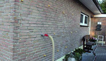 Einblasdämmung für Dach und Wand