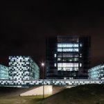 Glasfassade des Den Haager Strafgerichtshof. Bilder: Schmidt Hammer Lassen Architects/Photographer Adam Mørk