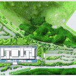 Lageplan mit Umgebung. Zeichnung: Schmidt Hammer Lassen Architects