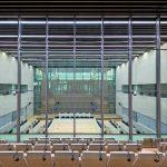 Transparente Prozesse: Die Sitzungssäle sind von gebäudehohen Panoramafronten gerahmt. Bild: Bild: Schmidt Hammer Lassen Architects/Photographer Adam Mørk