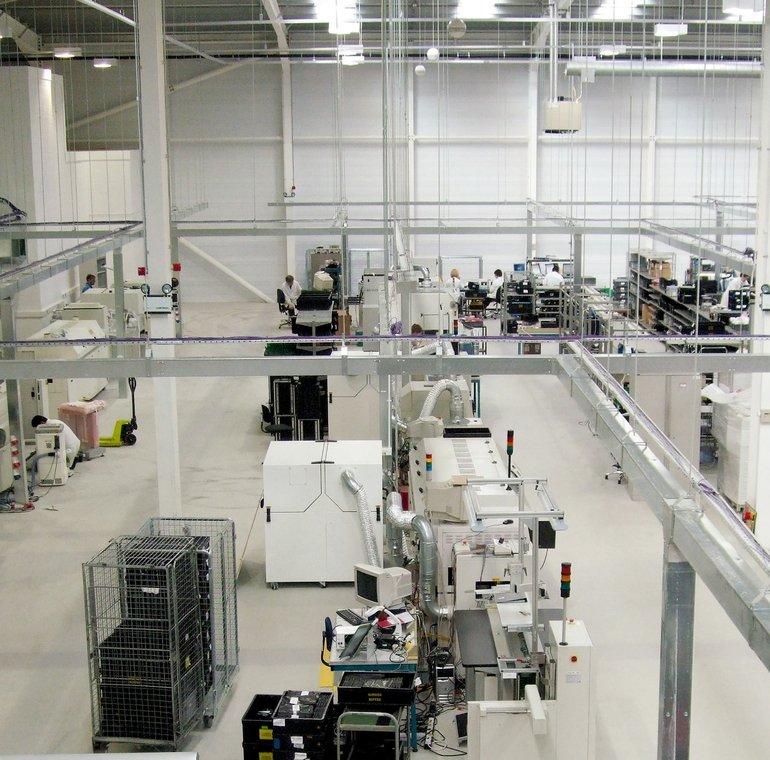 """Besonders robust: Antistatisches Industrieboden-System """"Ucrete MF40AS"""". Bild: BASF"""