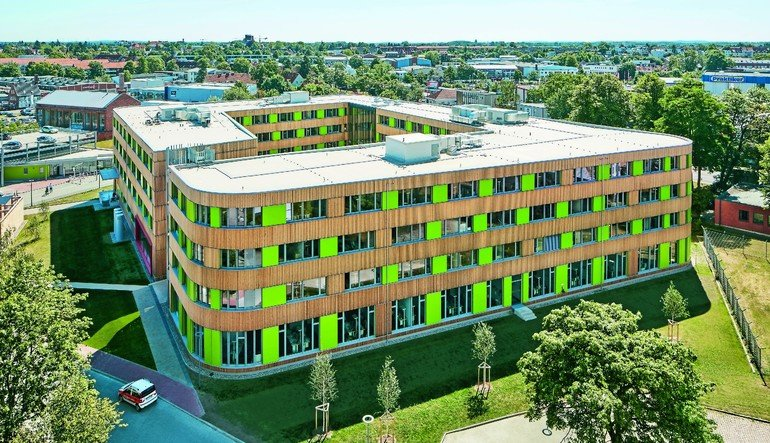 Neubau der Unternehmenszentrale der Stadtwerke in Lübeck. Bilder: Ulrich Hoppe