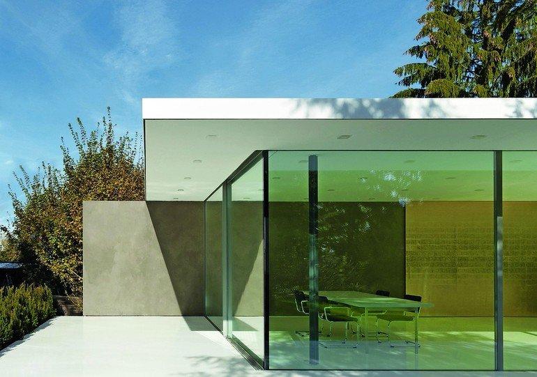Mit luftunterstützter Dichtung: Schiebefenster für anspruchsvolle Architektur. Bild: Air-Lux