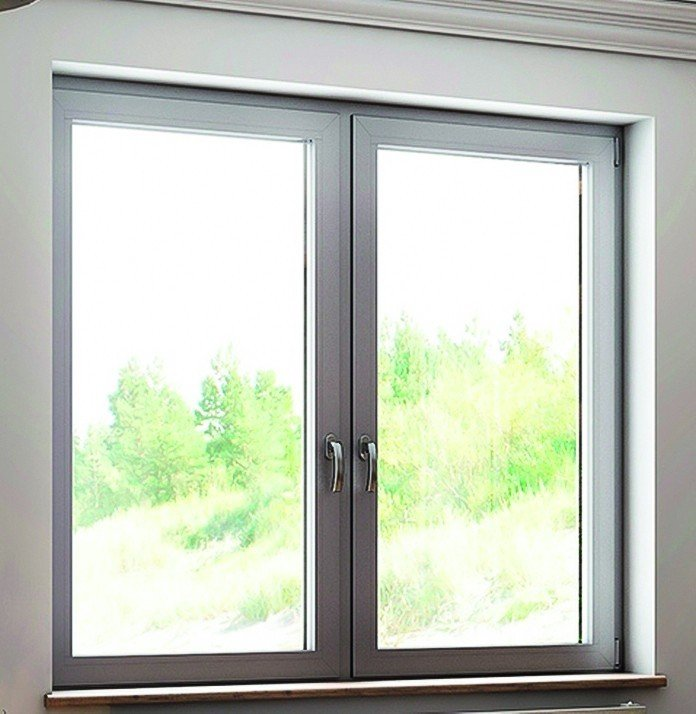 Schlank und dicht: Hochdämmendes Alu-Fenster. Bild: Drutex