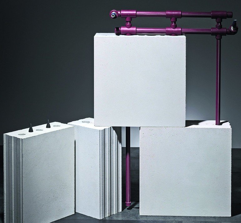 Wandheizung - und -kühlung mit KS-Quadro Therm von KS