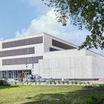 Auf einer BGF von 4400 m2 entstand für 20 Millionen Euro das interdisziplinäre Forschungszentrum für Turbulenz- und Windenergiesysteme. Bild: Piet Niemann (Baustellendokumentation)