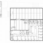 Grundriss 1. Obergeschoss des WindLab. Zeichnungen: hammeskrause architekten
