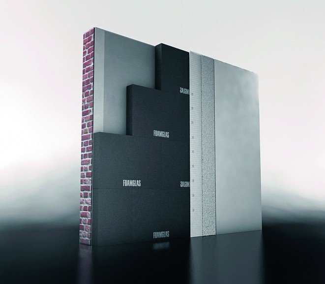 Ein neuer Dekorputz ist für die Foamglas Innendämmung erhältlich. Bild: Deutsche Foamglas GmbH