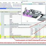 Sämtliche Informationen des IFC-Modells werden übernommen und sind jederzeit nachvollziehbar. Bild: G&W Software AG