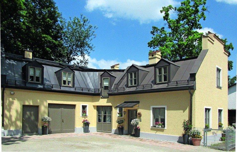 Innenwanddämmung für denkmalgeschützte Remise. Bild: Architekturbüro Hetfleisch & Leppert, München