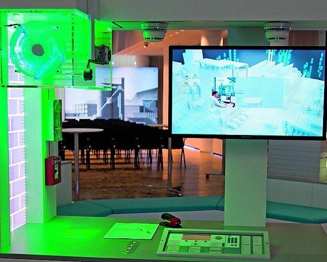 Brandschutzlösungen für höchste Sicherheitsstandards. Bild: Siemens