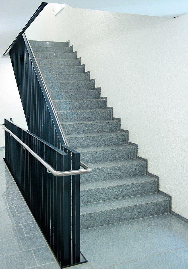 Trittschallgedämmte Treppen ohne Brandlast. Bild: Schöck Bauteile GmbH