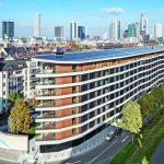 Neubau eines Wohnungsgebäudes in Frankfurt am Main von HHS Planer + Architekten